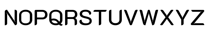 K2D Medium Font UPPERCASE