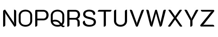 K2D Regular Font UPPERCASE