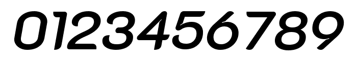 K2D SemiBold Italic Font OTHER CHARS