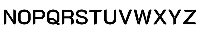 K2D SemiBold Font UPPERCASE