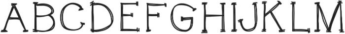 KACatsAndDogs otf (400) Font UPPERCASE