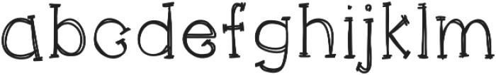 KACatsAndDogs otf (400) Font LOWERCASE