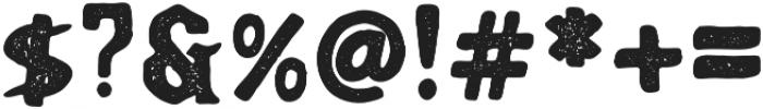 KARSON PRESS Regular otf (400) Font OTHER CHARS