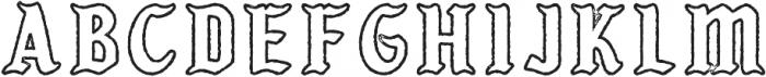 KARSONLINE PRESS Regular otf (400) Font UPPERCASE