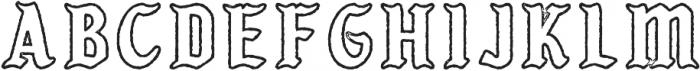 KARSONLINE PRESS Regular otf (400) Font LOWERCASE