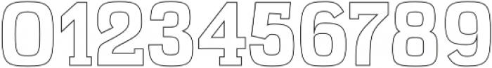 Kaayla ExtraBold Outline otf (700) Font OTHER CHARS