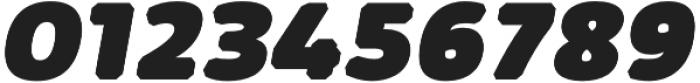 Kabrio Abarth Heavy Italic otf (800) Font OTHER CHARS