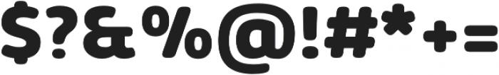 Kabrio Soft ExtraBold otf (700) Font OTHER CHARS