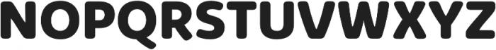 Kabrio Soft ExtraBold otf (700) Font UPPERCASE