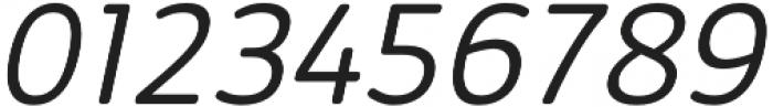 Kabrio Soft Light Italic otf (300) Font OTHER CHARS