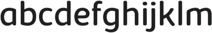 Kabrio Soft otf (400) Font LOWERCASE