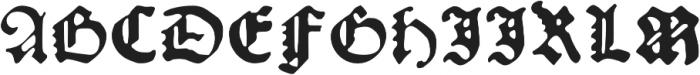 Kachelofen otf (300) Font UPPERCASE
