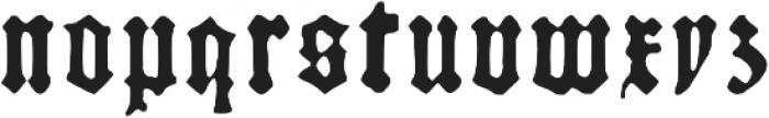 Kachelofen otf (300) Font LOWERCASE