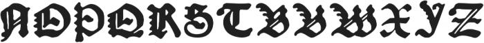 Kachelofen otf (400) Font UPPERCASE