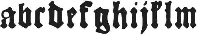 Kachelofen otf (400) Font LOWERCASE