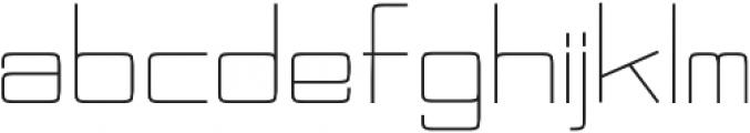 Kacugak otf (400) Font LOWERCASE