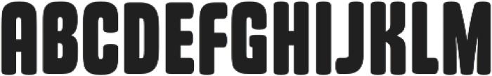 Kadeworth Regular otf (400) Font UPPERCASE