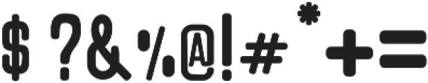 Kadisoka Sans otf (400) Font OTHER CHARS