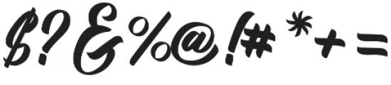 Kadisoka Script otf (400) Font OTHER CHARS