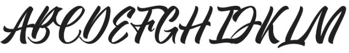 Kadisoka Script otf (400) Font UPPERCASE