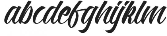 Kadisoka Script otf (400) Font LOWERCASE