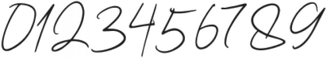 Kaeliwritten-Regular otf (400) Font OTHER CHARS