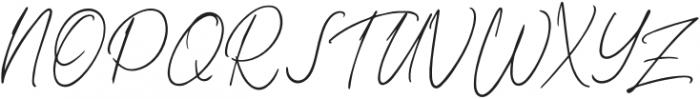 Kaeliwritten-Regular otf (400) Font UPPERCASE
