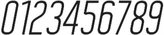Kafalan Sans Kafalan Sans Italic otf (400) Font OTHER CHARS