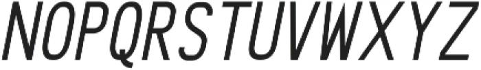 Kafalan Sans Kafalan Sans Italic otf (400) Font LOWERCASE