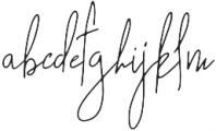 Kahendra otf (400) Font LOWERCASE