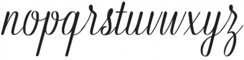 Kahitna Regular otf (400) Font LOWERCASE