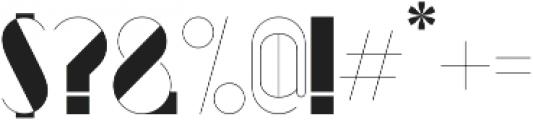 Kaiju II ttf (400) Font OTHER CHARS