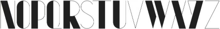 Kaiju II ttf (400) Font UPPERCASE