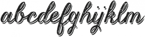Kailey the Beautiful otf (400) Font LOWERCASE
