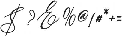 Kaitlyne Bold otf (700) Font OTHER CHARS
