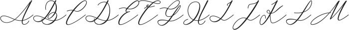 Kaitlyne Bold otf (700) Font UPPERCASE