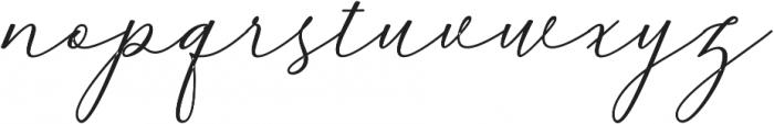 Kaitlyne Bold otf (700) Font LOWERCASE