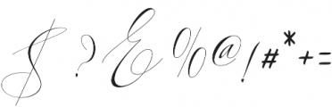 Kaitlyne otf (400) Font OTHER CHARS