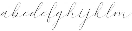 Kaitlyne otf (400) Font LOWERCASE