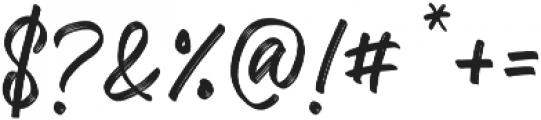 Kaiya Land ttf (400) Font OTHER CHARS