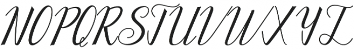 Kalanchoe otf (400) Font UPPERCASE