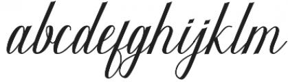 Kalanchoe otf (400) Font LOWERCASE
