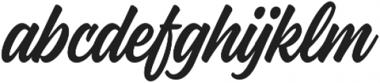 Kaleidos Smooth otf (400) Font LOWERCASE