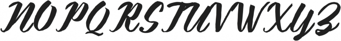 KalimatScript otf (400) Font UPPERCASE