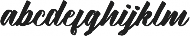 KalimatScript otf (400) Font LOWERCASE