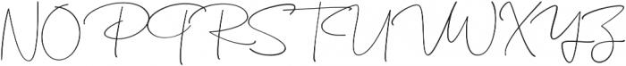KalisaAlt02 otf (400) Font UPPERCASE