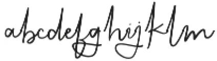 KalisaAlt02 otf (400) Font LOWERCASE