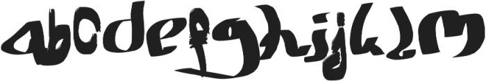 Kalliadem otf (400) Font LOWERCASE