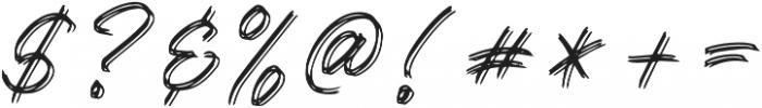 Kallisa otf (400) Font OTHER CHARS