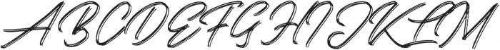 Kallisa otf (400) Font UPPERCASE